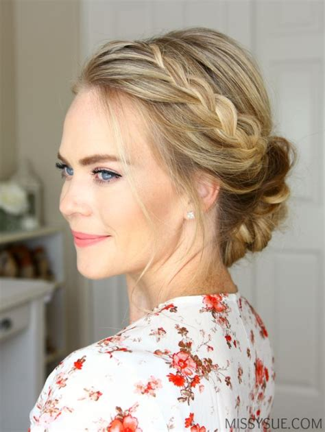 instructions on how to do a curly dressy chin lenght hairstyle 1000 ideas about formal hairstyles down on pinterest