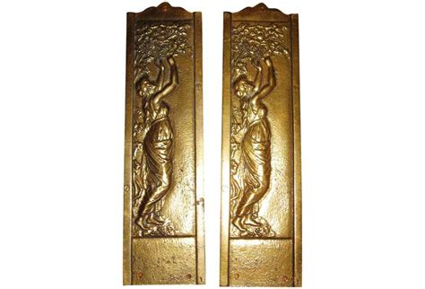 push plates for swinging doors art nouveau solid brass push plates omero home
