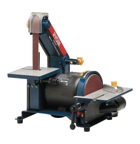 Bench Grinder With Sanding Belt Ryobi 200w Belt And Disc Sander Lowest Prices Amp Specials