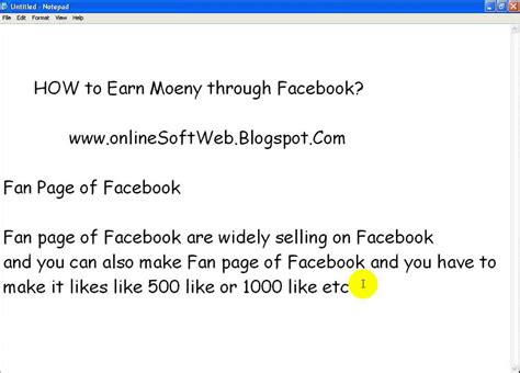 how to make a fan page on facebook how to make money through facebook fan page howsto co