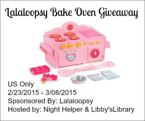 Lalaloopsy Giveaway - lalaloopsy bake oven giveaway night helper