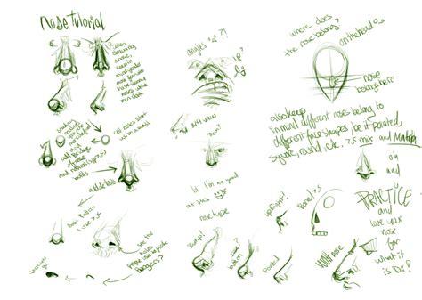doodle tutorial doodle nose tutorial by doop on deviantart