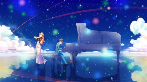 anime your lie in april review your lie in april final episode spring wind