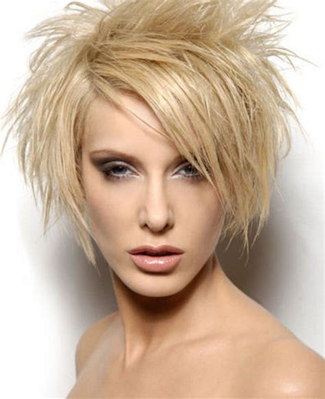short spiky haircuts for women easy hairstyles for short