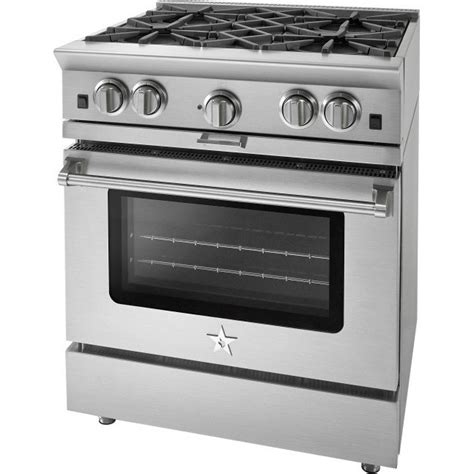bluestar copper 30 gas range available at www idlers net bsp304bng bluestar 30 quot gas range 4 burners griddle
