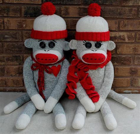 sock monkey knitting patterns 6 sock monkey patterns