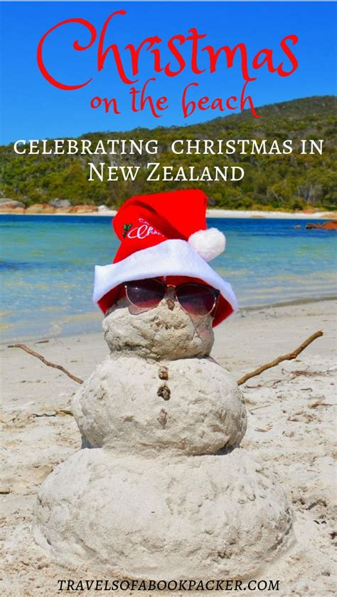 celebrating christmas in new zealand beach travel