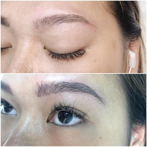 tattoo eyeliner orlando microblade brows before and after at forever beautifuls yelp