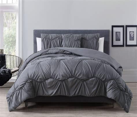 kinglinen queen comforter sets charcoal gray comforter sets
