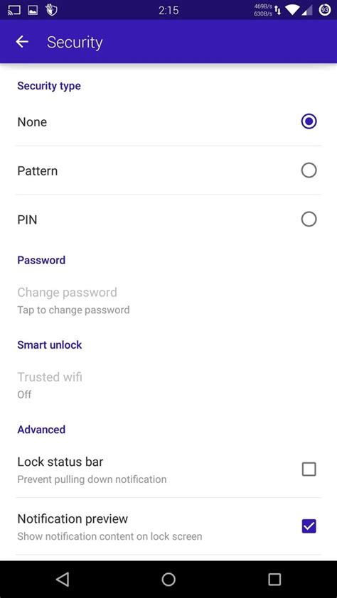 disable pattern lock android lollipop how to get back lock screen customization in android
