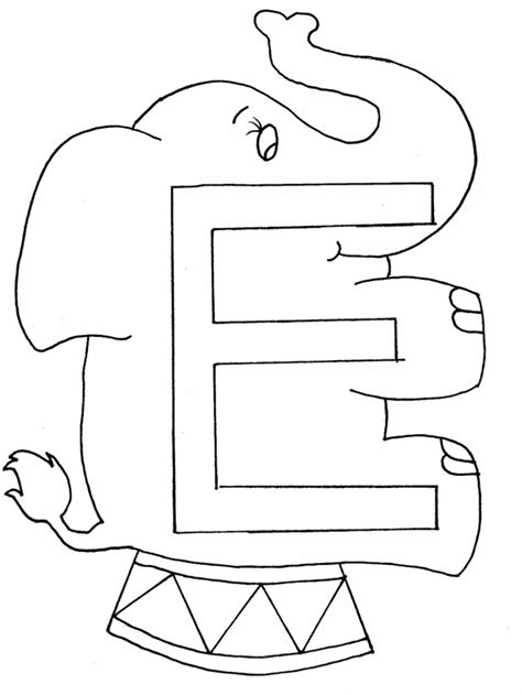The Letter E Coloring Pages capital letter e coloring pages coloring pages