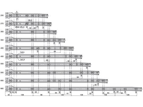 guide per cassetti scorrevoli cucina guide t30c montaggio cassetto con viti guide per