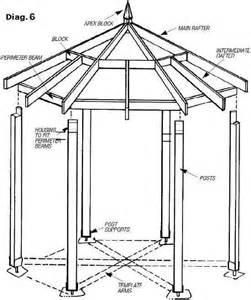 16 Foot Hexagon Gazebo Plans by Diy Gazebo Plans Amp Blueprints For Building A Hexagonal