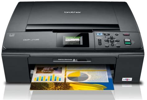 cara reset brother dcp j125 software printer brother dcp j125
