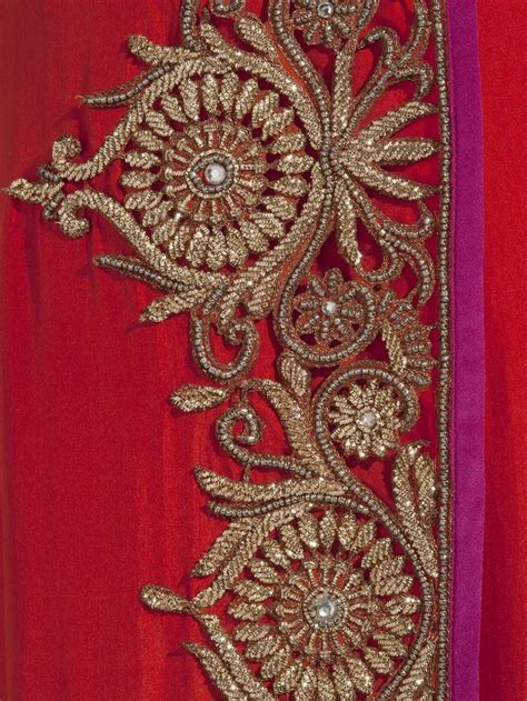 embroidery design for saree border 17 best images about zardozi on pinterest beading
