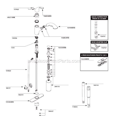 moen kitchen faucet repairs 17 best ideas about faucet repair on plumbing