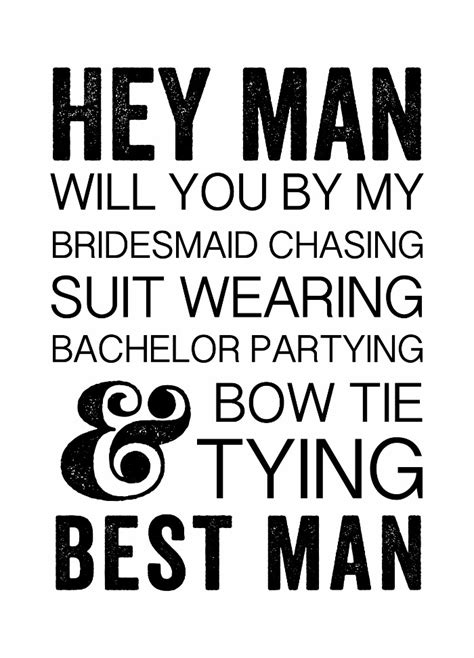 Print Fun Will You Be My Groomsmen Free Printable Will You Be My Best Template