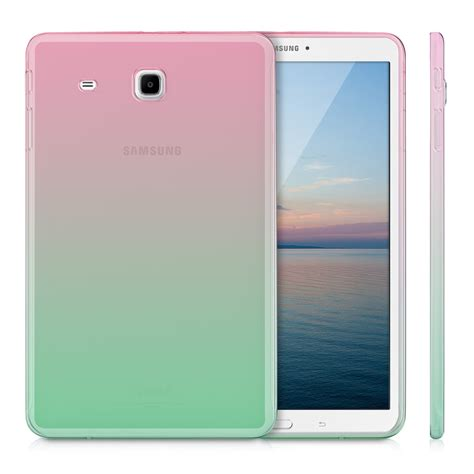 fundas tablet 9 crystal case samsung galaxy tab e 9 6 funda transparente