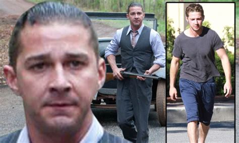 lawless movie 2014 hairstyles how shia labeouf gobbled chicken eggs and protein shakes