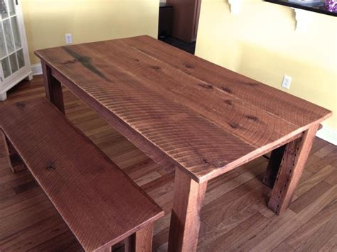 Reclaimed Oak Dining Table Reclaimed Oak Dining Table Benches Cz Woodworking