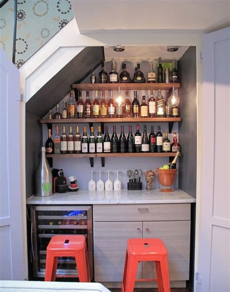 Bar Conversion Closet Wine Bar Conversion Contemporary Wine Cellar