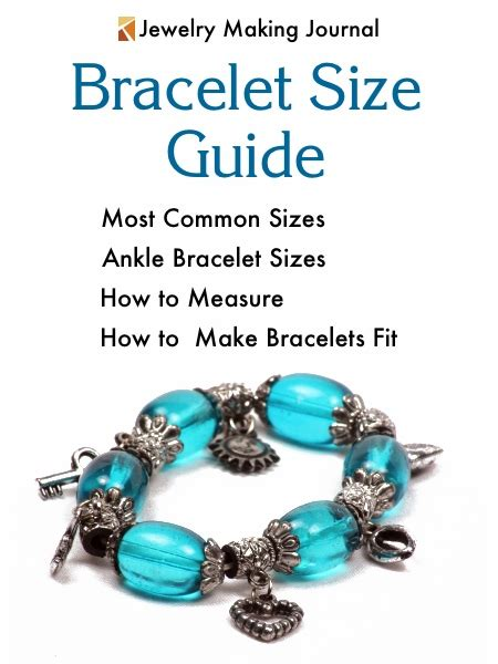jewelry guide wrist sizes for bracelets images