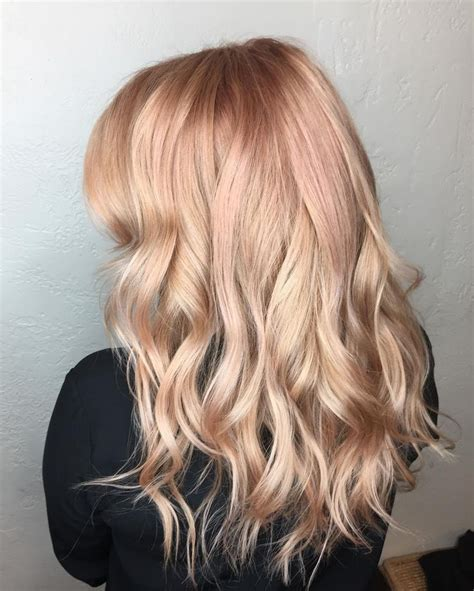 rose gold blonde hair color 491 best color and highlights images on pinterest hair