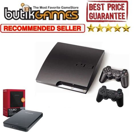 jual sony ps3 cfw multiman 120 gb harddisk ext 500gb baru console murah