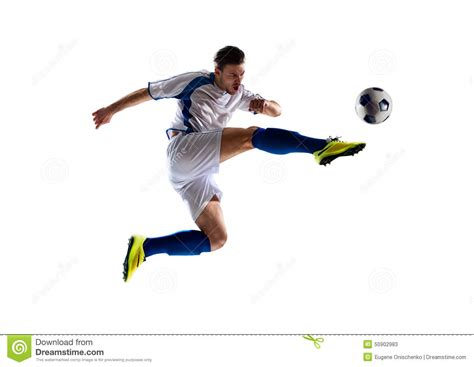 background player soccer player in stock photo image 50902983