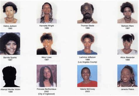 Grim Sleeper Victims Photos by Bonnie S Of Crime Of Crime Murder Missing And Such Above All Else