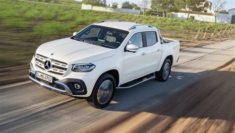 mercedes pickup 2018 mercedes benz x class ride along review photos