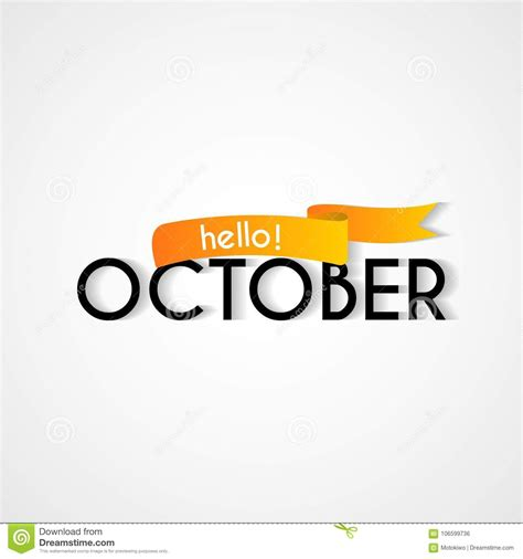 new month card happy new month october background design stock vector illustration of business greeting