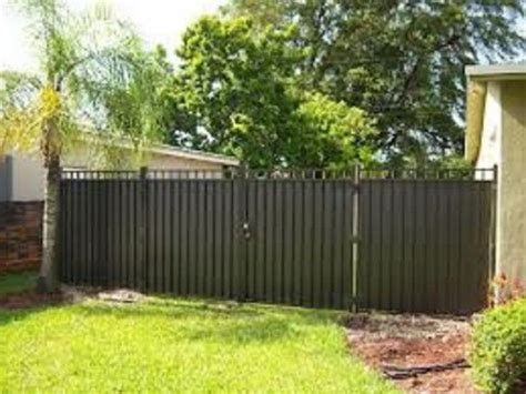 inexpensive privacy fence ideas inexpensive aluminum