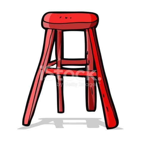 cartoon wooden stool stock vector freeimages.com