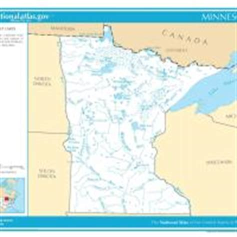 world map of rivers and streams pin minnesota blank map on
