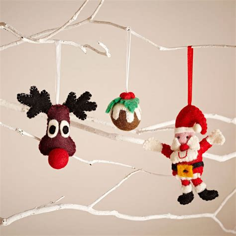 novelty christmas tree decorations by paper high