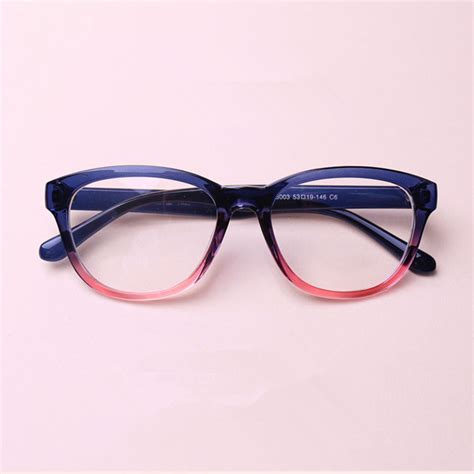 2015 fashion tr 90 large frame black color eyeglasses