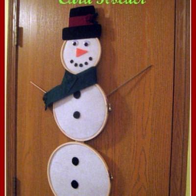 standing snowman christmas card holder snowman card holder cards tip junkie