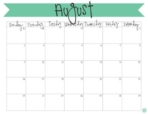 printable calendar 2015 fun august 2015 calendar free printable live craft eat
