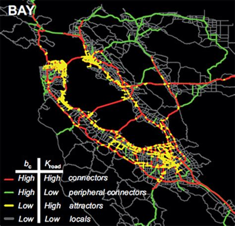 san francisco map traffic cellphone gps data suggest new strategy for alleviating