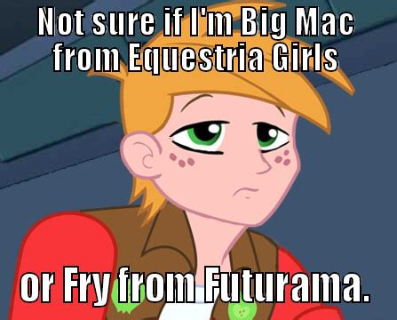 Big Mac Meme - big mac meme my little pony friendship is magic photo