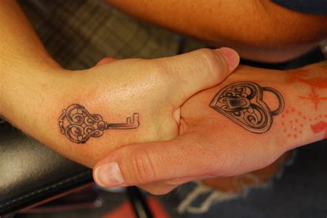 heart and lock tattoos for couples lock and key tattoos designs ideas and meaning tattoos