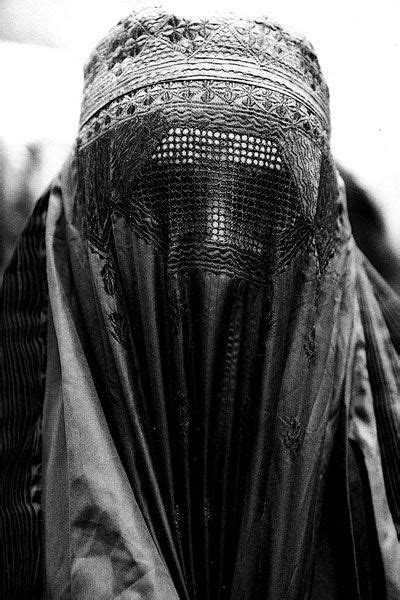 Burka. There is something oddly beautiful about these