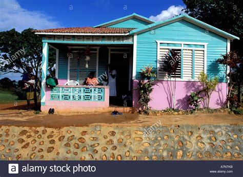 dominican house dominican republic samana province typical house in the