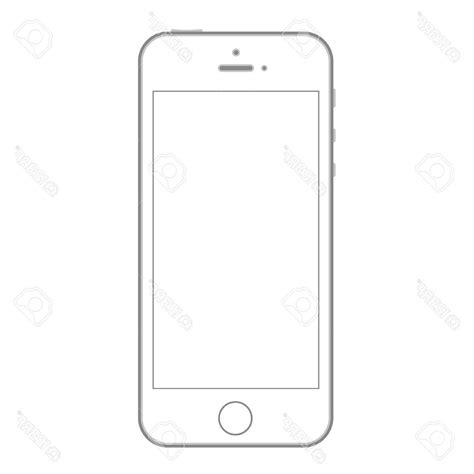 best hd mobile phone mockup design template outline shape