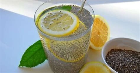Detox With Chia Seeds by Detox You Should Try This Chia Seeds And Lemon Water