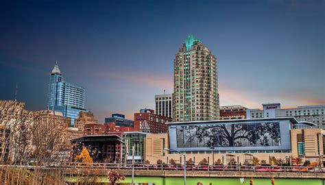 Sweepstakes Raleigh Nc - raleigh nc cityscape photograph by brett price