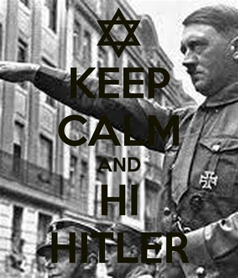 Hoodie Adolf keep calm and hi poster sebas keep calm o matic