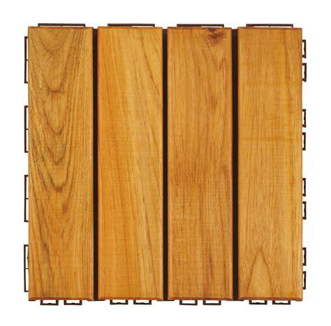piastrelle legno piastrella in legno teak da esterno hortus