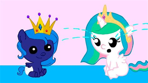 my little pony princess luna and celestia babies mlp baby celestia and luna www pixshark com images